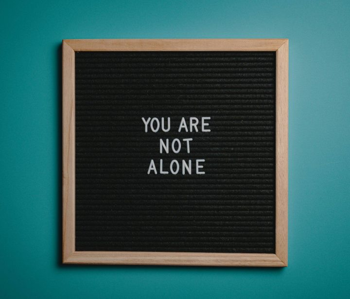 You are Not Alone quote